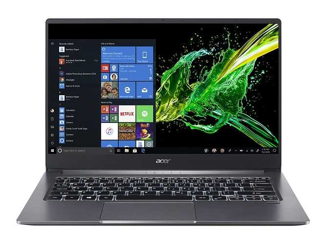 ACER Swift 3 Intel RYZEN 5 0