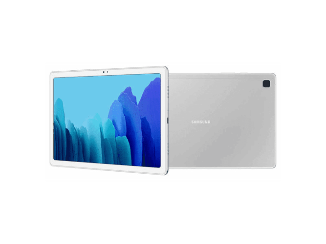 Galaxy Tab A7 Argent 0