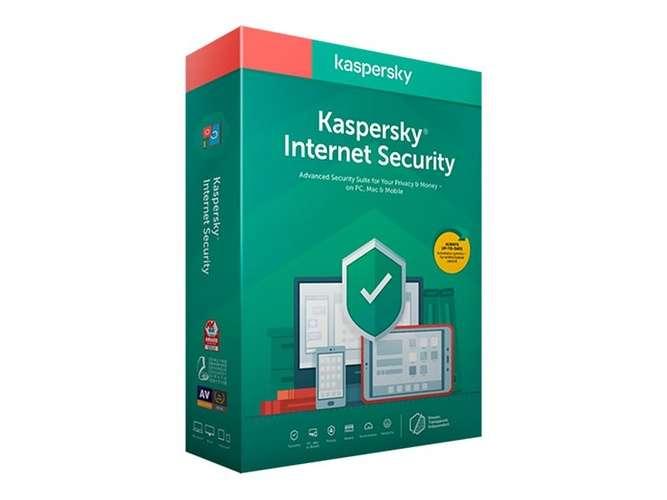 Kaspersky Internet Security 1 An 3 PC Renouvellement 0